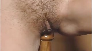 Exciting hot retro porn repute sweeping in vintage sexy lingerie are playing retro sex toys