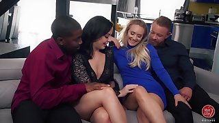 Wild curvaceous sexpot AJ Applegate loves sharing dicks be worthwhile for kinky swinger fuck