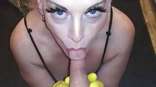 LATEX GLOVE Talisman MILF GILF Tow-headed MATURE Drag inflate SHOW SWALLOW Gust HAND JOB