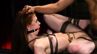 Rope subjugation Titillating young girls, Alexa Nova and Kendall