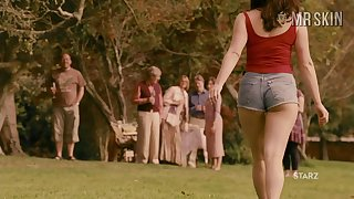 Curvy cinema superstar Gemma Arterton flashing her boobs in a sexy compilation