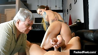 Forged Fucked Maria Marley Bitches At Fan While Milking Dick!