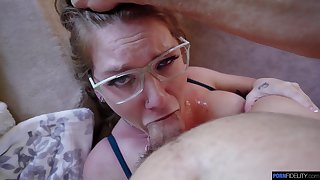 Fuckable filly Aria Kai gets her pussy creampied for the very first time