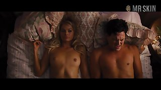 Margot Robbie naked scenes compilation