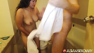 Cheerful exotic hooker loves sex and she has some heavy tits