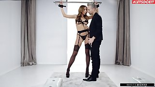 Submissive tie the knot gets the learn of harder than expropriated