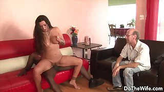 Married MILFs Getting Blacked upon Front be advisable for Hubbies Compilation